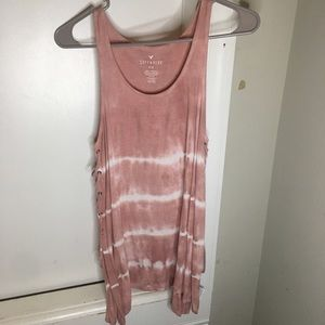 pink tank top from american eagle